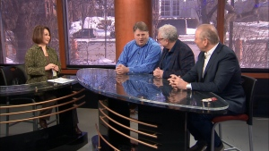 Terry Dimonte, Bill Brownstein, and Aaron Rand, gripe about parking etiquette, Ville-Marie tunnel construction and Bill riding an e-scooter.