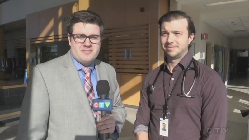Sault Area Hospital infectious disease specialist Dr. Castellani talks to Jairus Patterson about preparations to stop spread of COVID-19. Feb. 21/20 (CTV Northern Ontario)