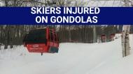 SKIERS INJURED