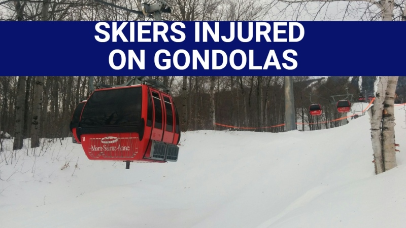SKIERS INJURED