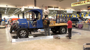 A restored and polished 1926 Kenworth truck is one of the attractions at the World of Wheels show, taking place this weekend at BMO Centre in Calgary.