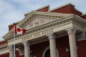 The Dauphin courthouse. (Source:Danton Unger/CTV News)