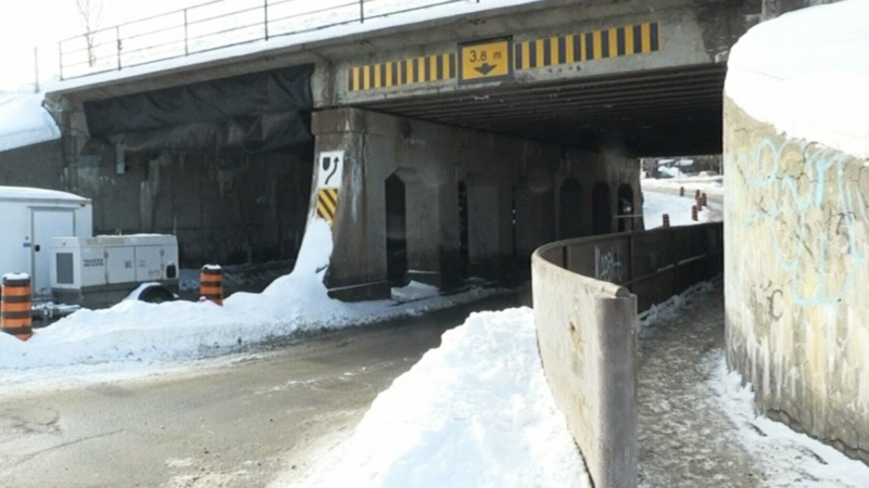 Sudbury underpass temporarily closed for repairs