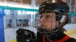 The Canadian women's sledge hockey team, captained by Christina Picton, will play in a three-game series at Richmond Oval from Feb. 21 to 23.