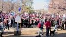 Historic one-day teachers strike