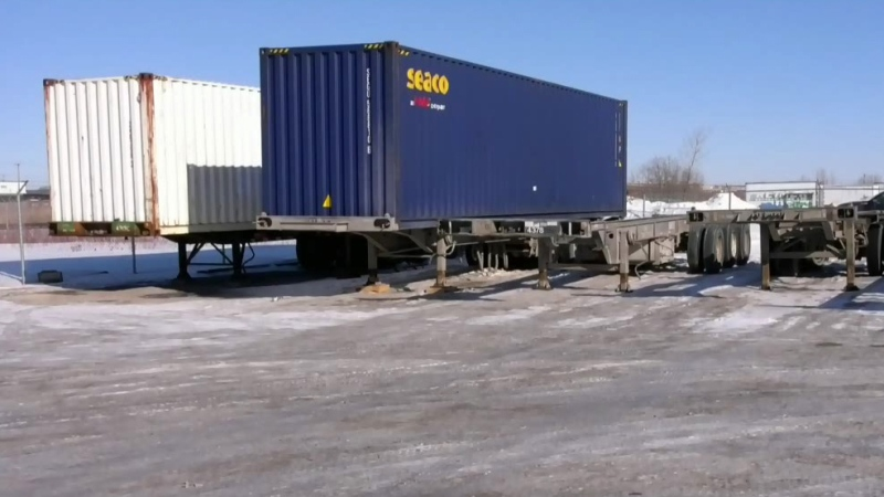 Rail shutdown hurting trucking industry