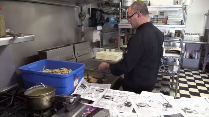 At Willman's Fish and Chips, propane is as essential as the haddock.