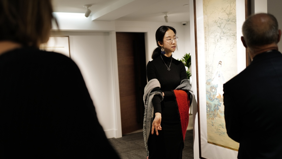 Lin Li, marking end events co-ordinator for the Sunzen Art Gallery in downtown Vancouver, is seen in an undated image. Li is helping organize and anti-racism event on Sunday, Feb. 23, 2020.