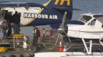Police look for man who stole, crashed float plane