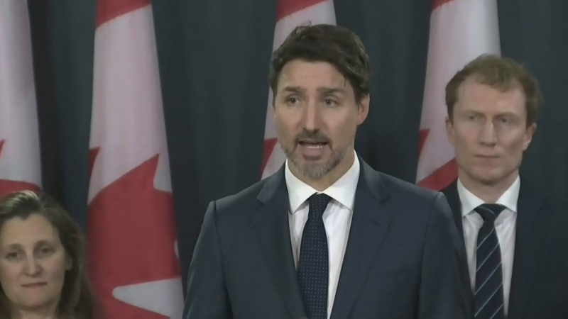 Trudeau says barricades must come down
