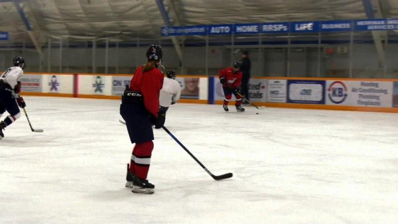 Watch: Lethbridge Bantam AAA defenceman Kendal Davidson has her eyes on playing in the WHL