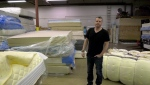 Shawn Cable is the business operations leader for Re-Matt, a  Calgary mattress recycler