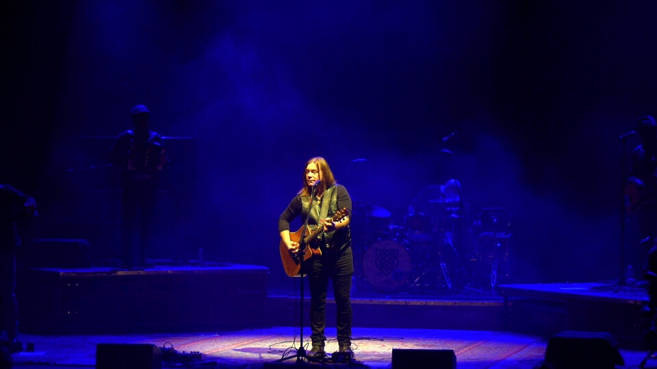 Alan Doyle in Winnipeg. (Source: Danton Unger/ CTV News Winnipeg)