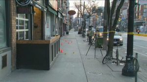 Police are investigating a stabbing in Little Italy on Saturday morning.