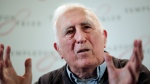 In this file photo dated Wednesday, March 11, 2015, showing Jean Vanier, the founder of L'ARCHE, an international network of communities where people with and without intellectual disabilities live and work together, in central London. (AP Photo/Lefteris Pitarakis, FILE)