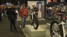 The Montreal Bicycle Show is ongoing at the Olympic Stadium from Feb. 21-23, 2020.