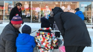 The Centre Culturel La Ronde's two-week winter carnival is wrapping up, with family activities blocking off a section of the Timmins downtown area on Saturday.