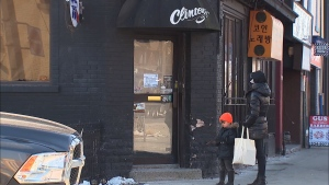 Clinton's Tavern at Bloor and Clinton streets has abruptly announced it is closing after 83 years in business. (CTV News Toronto)