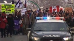 Indigenous protesters occupy N.S. causeway