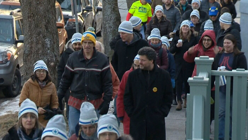 Maritimers join Coldest Night of the Year event
