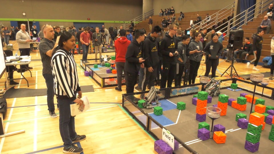 VEX Robotics competition BCIT