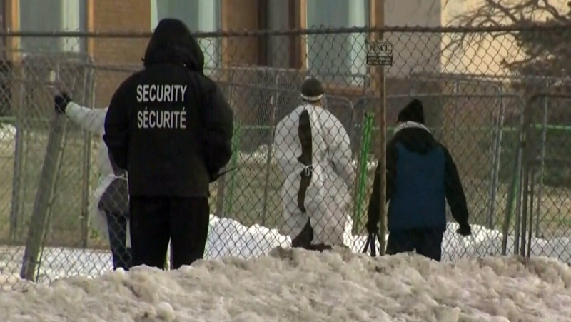 Inside look at Cornwall quarantine