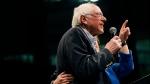Democratic presidential candidate Sen. Bernie Sanders I-Vt. speaks during a rally in El Paso, Texas, Saturday, Feb. 22, 2020. (Briana Sanchez/The El Paso Times via AP)