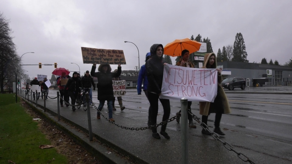 Abbotsford protest