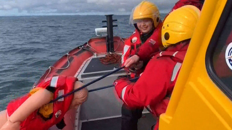 Women put search and rescue skills to the test