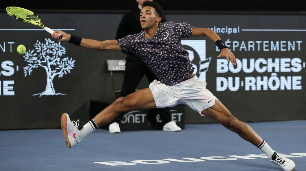 Felix Auger-Aliassime comes runner up at Open 13