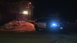 Officers were called to the area of Morning Calm Drive and Franklin Boulevard Feb. 22, 2020 for reports of a shooting. (Adam Marsh / CTV Kitchener).