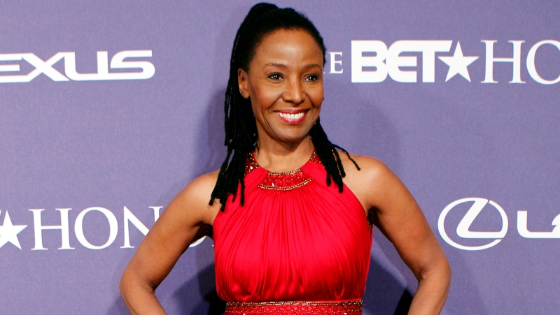 In this Jan. 14, 2012 file photo, former model and restaurateur B. Smith arrives at the BET Honors red carpet in the Warner Theatre in Washington. (AP Photo/Jose Luis Magana, File)