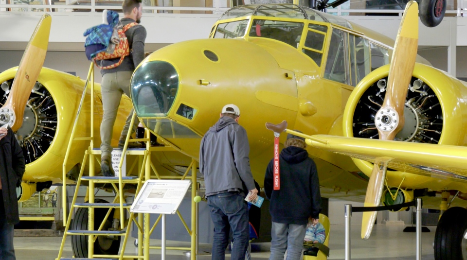 Several planes will be on display for the event, which runs until 4 p.m. Sunday.