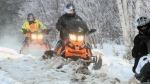 Police launch Snowmobile Torch Ride