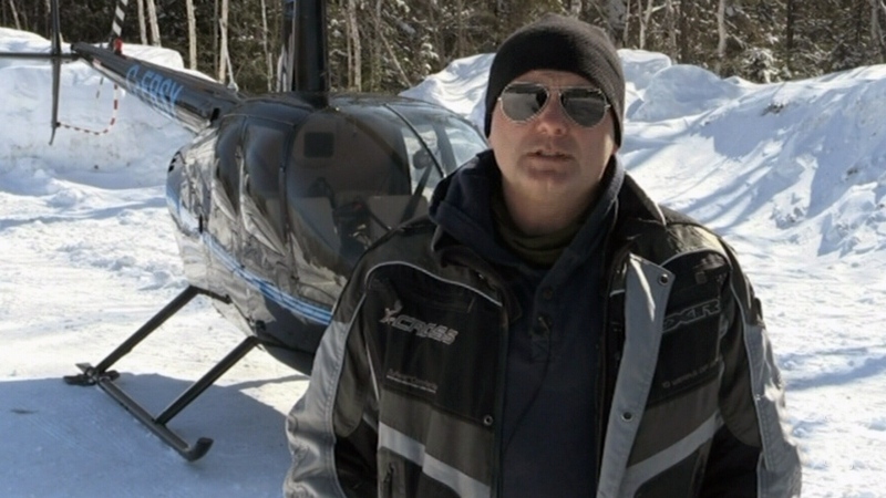Helicopter Training in severe winter elements