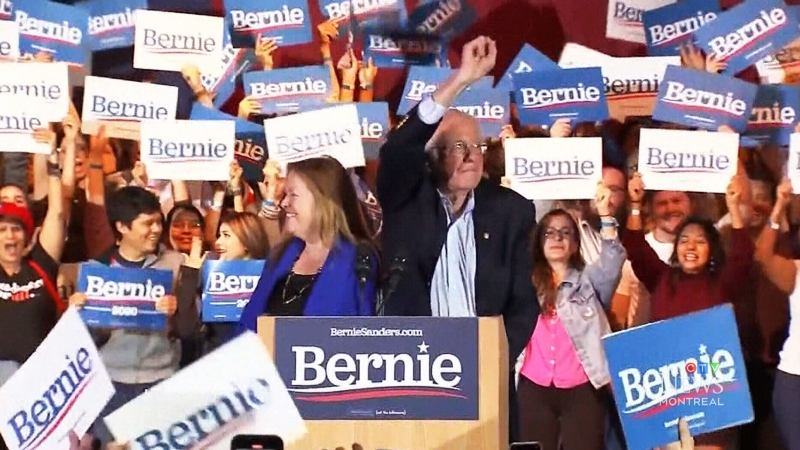 What does Sanders' big win mean?