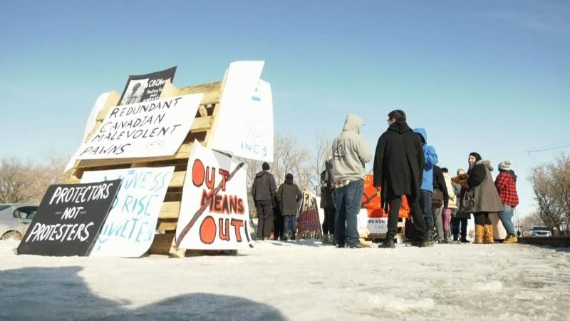 Protests in Saskatoon continue