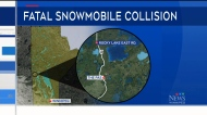 Man dead after snowmobile crash: RCMP