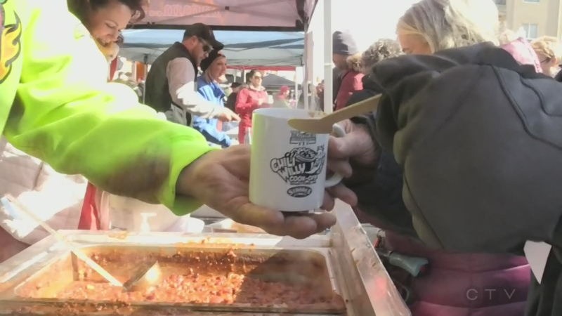 chili cookoff goes green