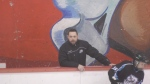 Vancouver minor hockey coach Stephen Gillis is back behind the bench, only days after receiving a life-changing kidney transplant. (CTV)
