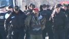 Arrest made at rail blockade near Belleville