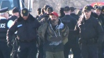 Arrest made at rail blockade near Belleville