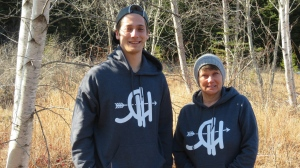Mother and son Sheila Henderson and Justin Comeau co-founded Robin Hoodies -- a company that aims to buy land and guarantee its protection as a wild space.