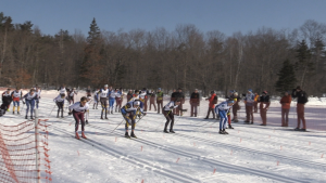 Algoma University and the Soo Nordic Ski Club in Sault Ste. Marie hosts the 2020 OUA Nordic ski championships over the weekend. Feb. 23/20 (Christian D'Avino/CTV Northern Ontario)