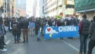 Downtown rally for Wet'suwet'en chiefs