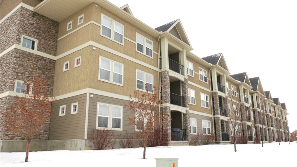 The Origins at Cranston condo complex in southeast Calgary
