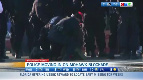 Headlines: Police moving on protestors