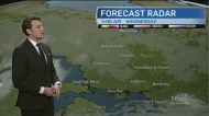 Partly sunny skies and above seasonal temperatures