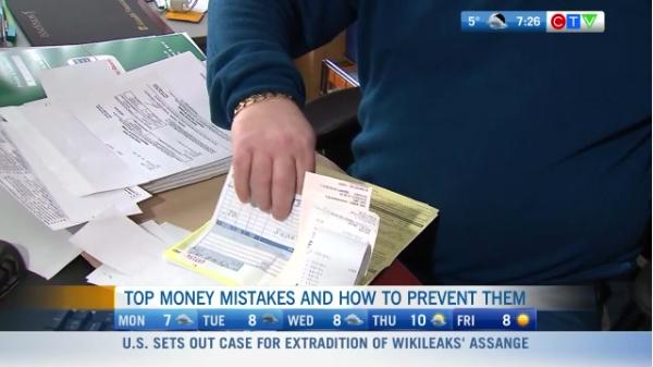 Top money mistakes