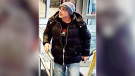 Ottawa Police are asking for help identifying a man wanted in connection with an alleged liquor store robbery Feb. 9, 2020 (Ottawa Police handout)